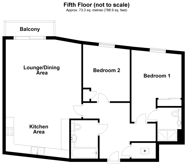 Fifth Floor (Not To Scale)
