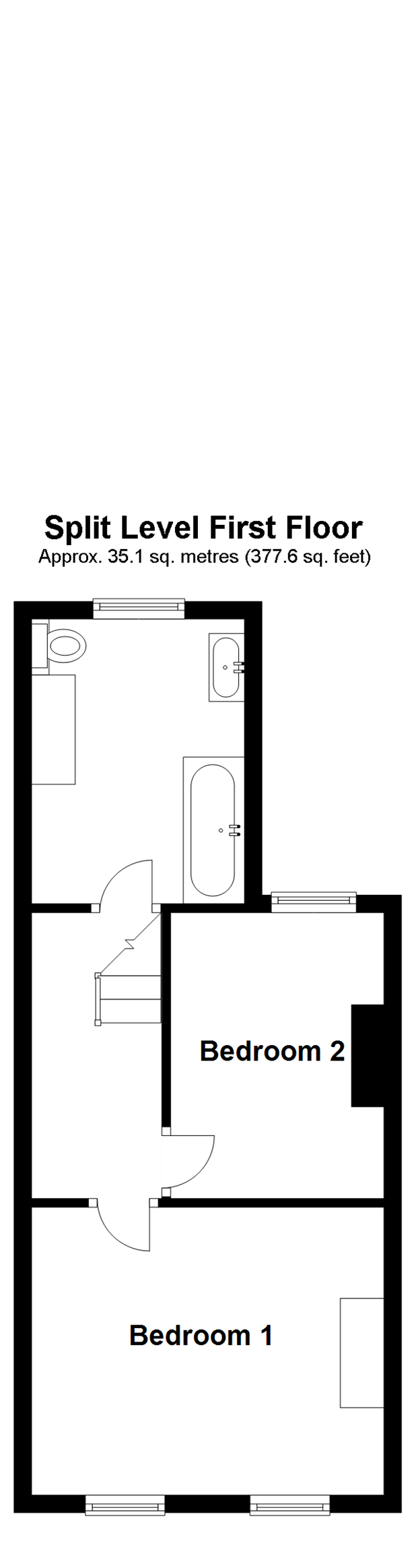 Split Level First Floor