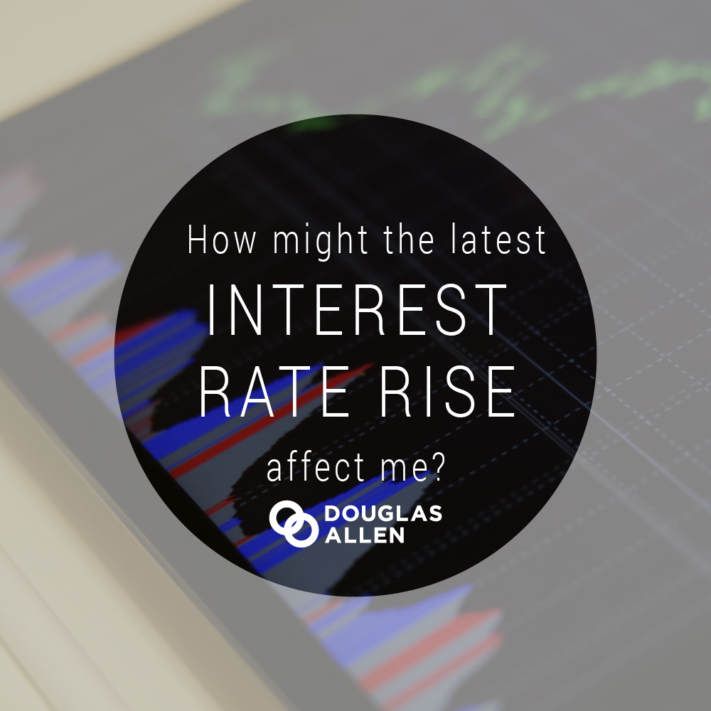 Blog Image Design How Might The Latest Interest Rate Rise Affect Me DA
