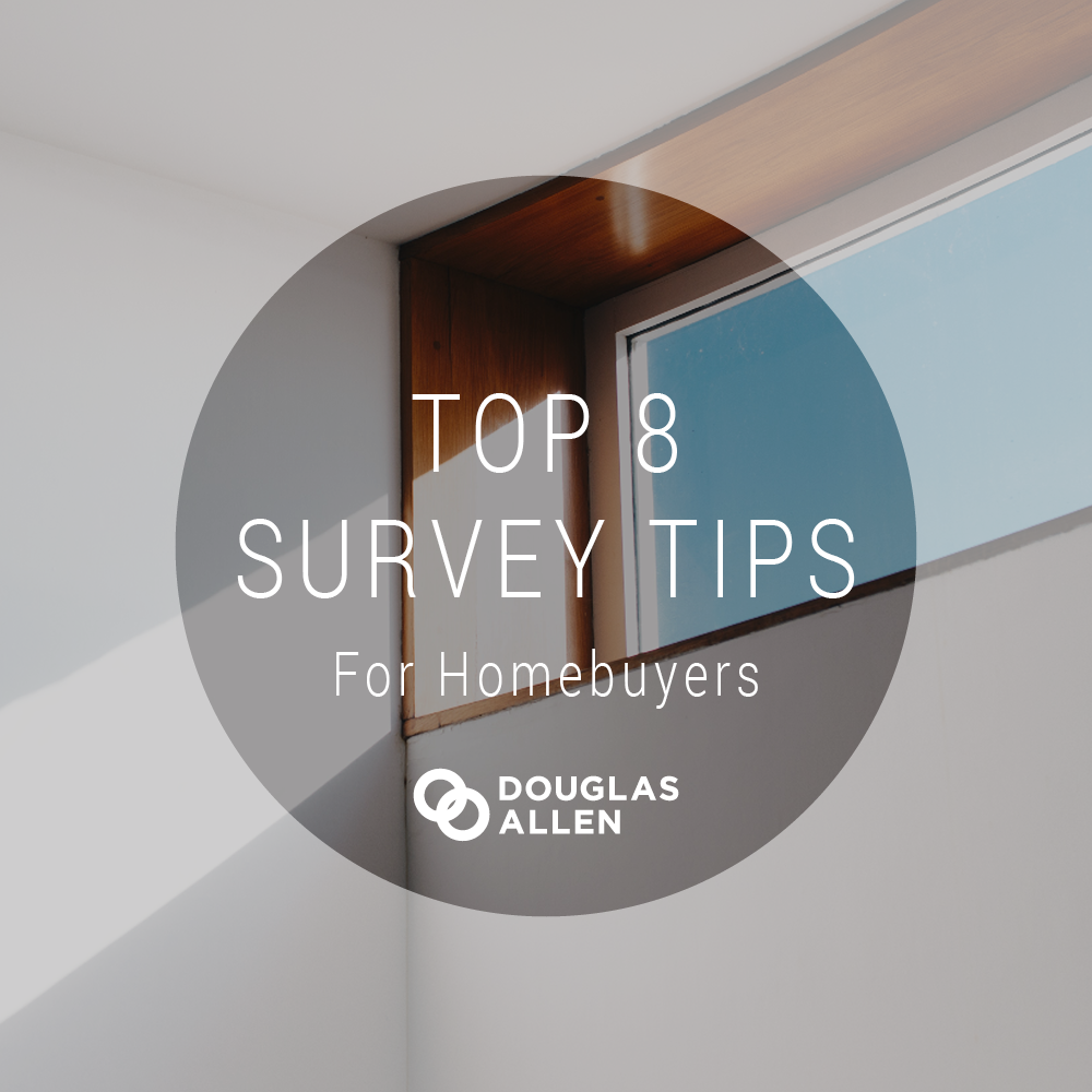 Blog Top 8 Survey Tips For Homebuyers DA