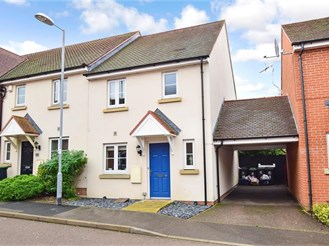 3 bedroom end of terrace house in Loughton