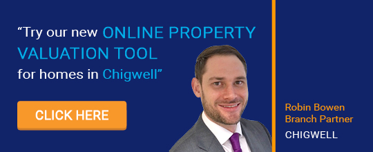 Online Valuation Tool website banner Chigwell