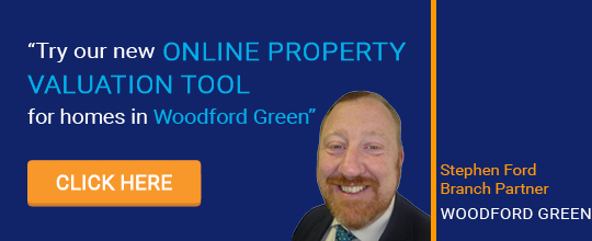 Online Valuation Tool website banner Woodford Green